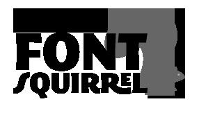 Logo von Fontsquirrel